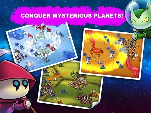 蘑菇战争:太空大战!截图2