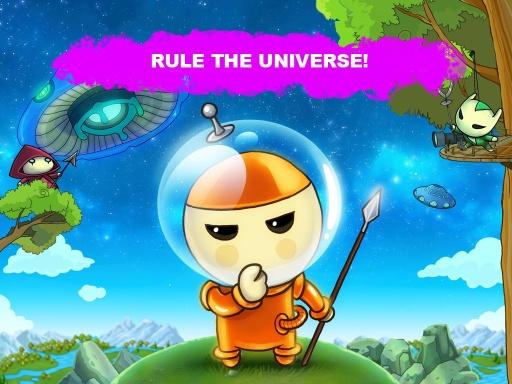 蘑菇战争:太空大战!截图4