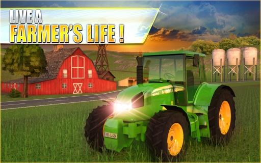 农用拖拉机模拟器3D