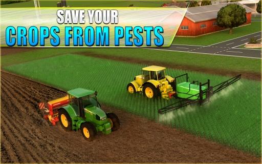 农用拖拉机模拟器3D截图1