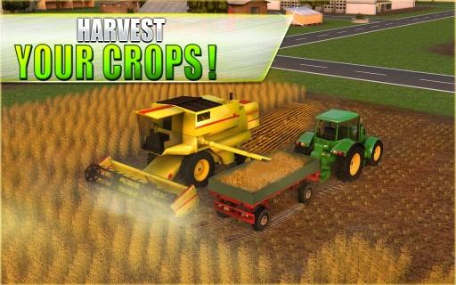 农用拖拉机模拟器3D截图2