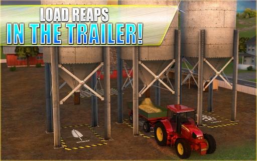 农用拖拉机模拟器3D截图4