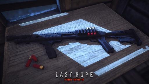 最后的希望:狙杀僵尸