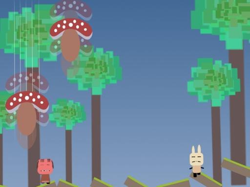 爱丽丝梦游蘑菇洞