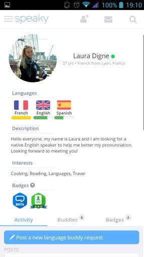 语言学习互助截图0