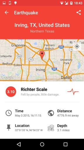 我的地震警告截图0
