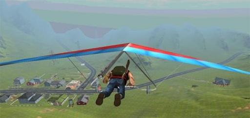 滑翔翼飞行3D