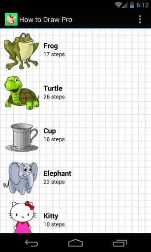 如何绘画 - 简易课程截图0