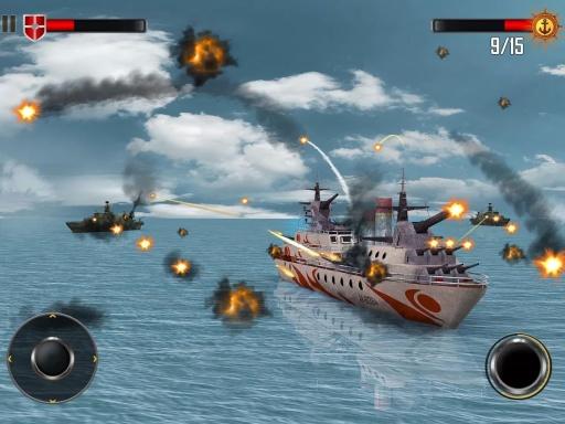 海上战舰截图1