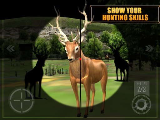 狙击手猎鹿截图0