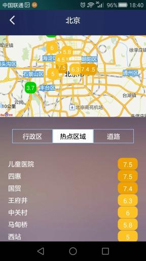 四维交通指数截图3