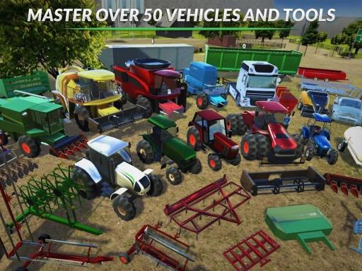 模拟农场2015截图2