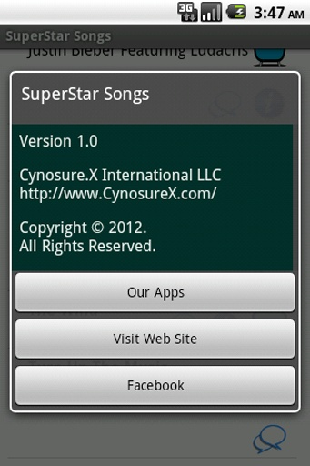 SuperStar Songs截圖4