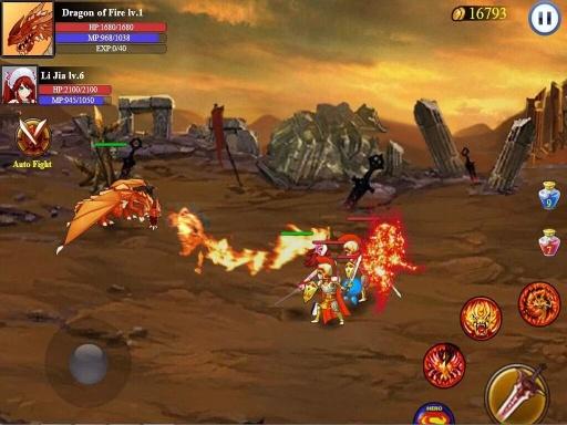 英雄战争:圣剑传奇