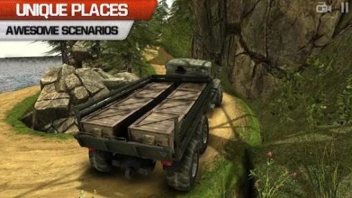 卡车司机3D:Offroad截图0