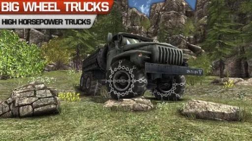卡车司机3D:Offroad截图1
