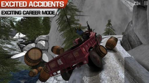 卡车司机3D:Offroad截图2