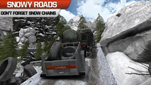 卡车司机3D:Offroad截图3