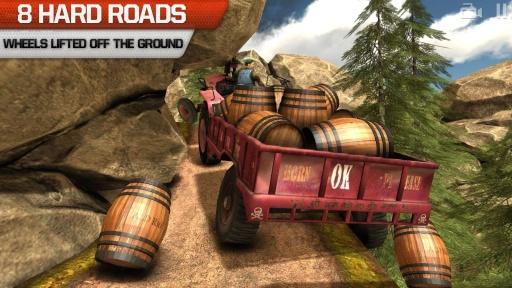 卡车司机3D:Offroad截图4