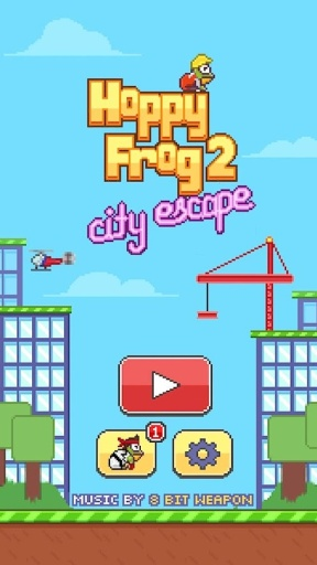 跳跳蛙2:逃离城市 Hoppy Frog 2:City