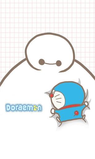 哆啦A梦与大白截图1