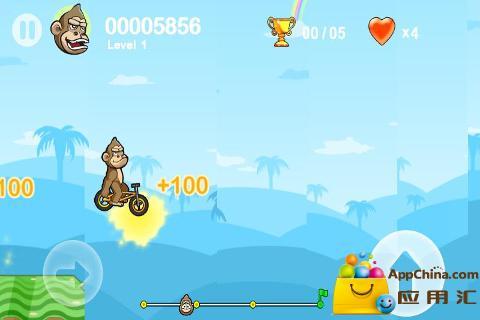 【免費賽車遊戲App】疯狂小轮自行车2-APP點子