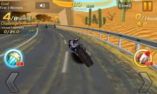 摩托赛车英雄截图0