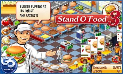超级汉堡店3中文版 Stand O'Food截图1