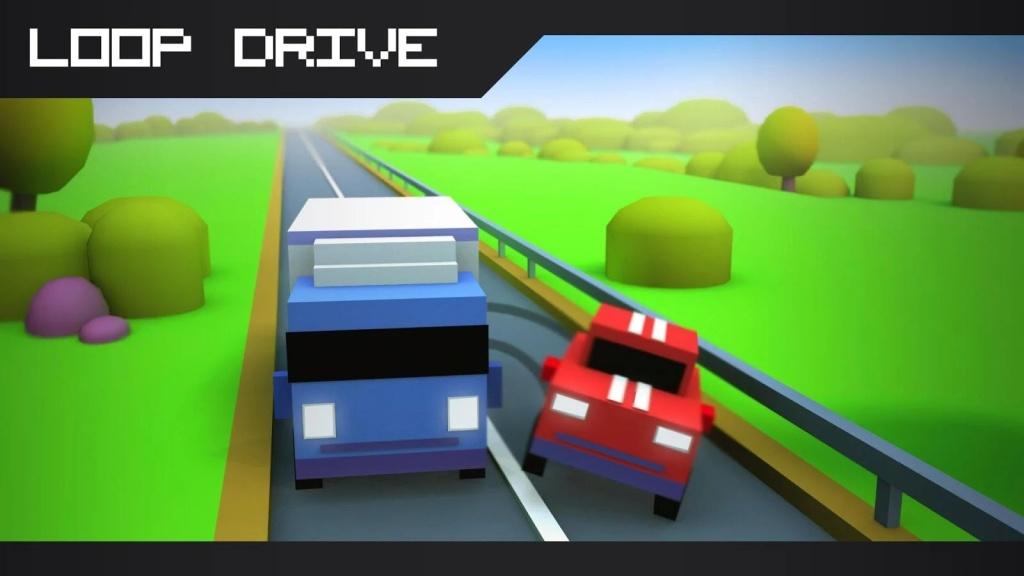 环形驾驶:冲撞赛车