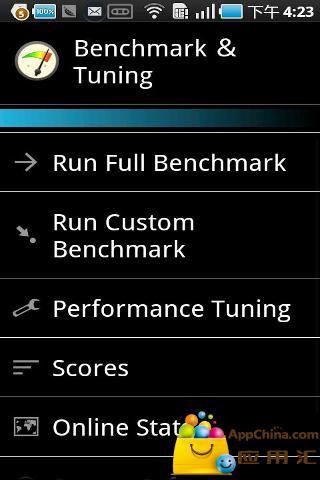 系统评测跑分