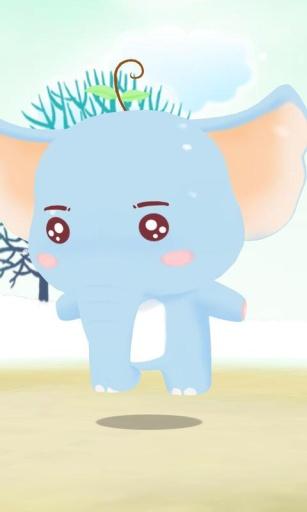 3D萌宠梦小象-梦象动态壁纸
