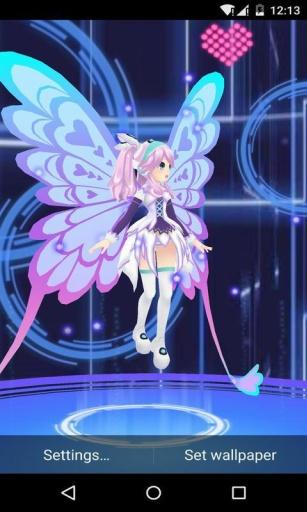 3D电子妖精璐儿-梦象动态壁纸
