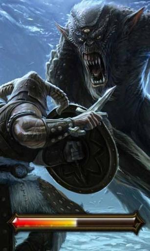 魔兽狼人_锁屏壁纸截图1