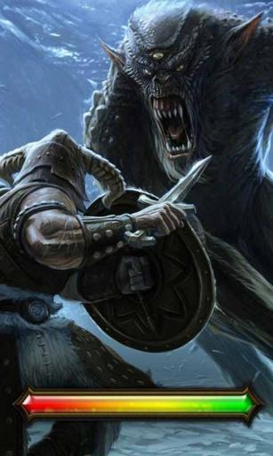 魔兽狼人_锁屏壁纸截图2