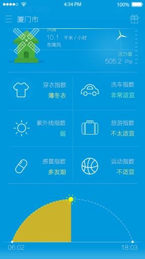 365桌面天气截图2
