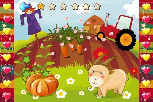 儿童圣诞节拼图游戏,宝宝识物学英语截图4