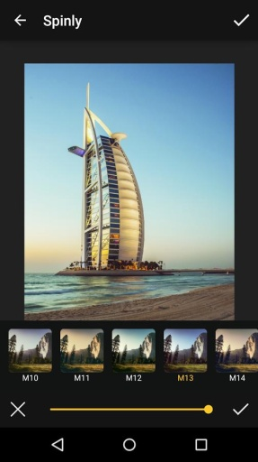 Spinly Photo Editor & Filters截图0
