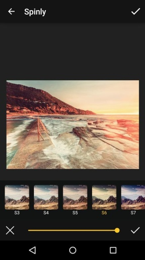 Spinly Photo Editor & Filters截图3