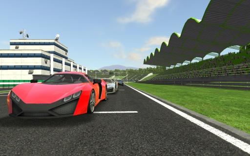 真实赛车游戏截图0