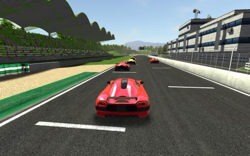 真实赛车游戏截图3