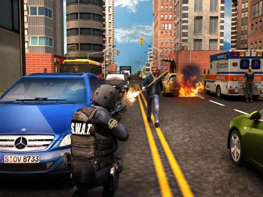 现代警察:狙击手