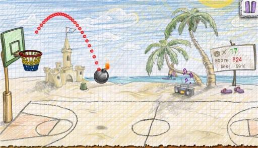涂鸦篮球2截图3