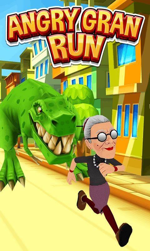 愤怒的老奶奶跑酷截图2