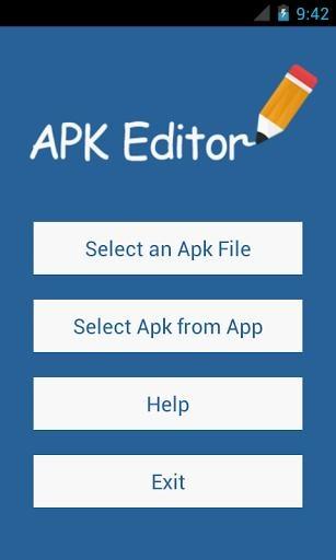 APK编辑器截图0
