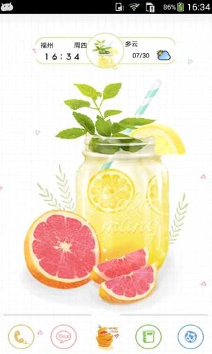 夏日冰饮-91桌面主题壁纸美化