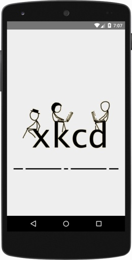 又一个XKCD阅读器截图0