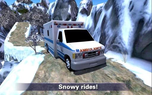 爬山救护车救援截图2