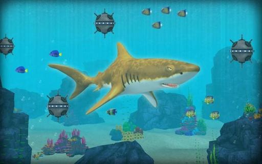 鲨鱼攻击模拟器截图1