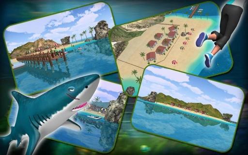 鲨鱼攻击模拟器截图2