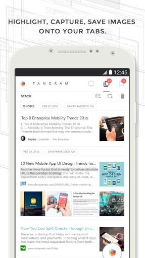 七巧板浏览器:Tangram截图3